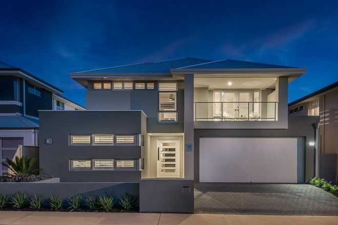 Picture Of  Mcintyre Avenue Burns Beach Wa  Logo For Peard Real Estate Joondalup
