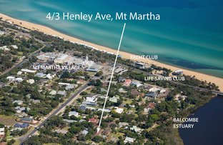 Picture of 4/3 Henley Avenue, Mount Martha VIC 3934