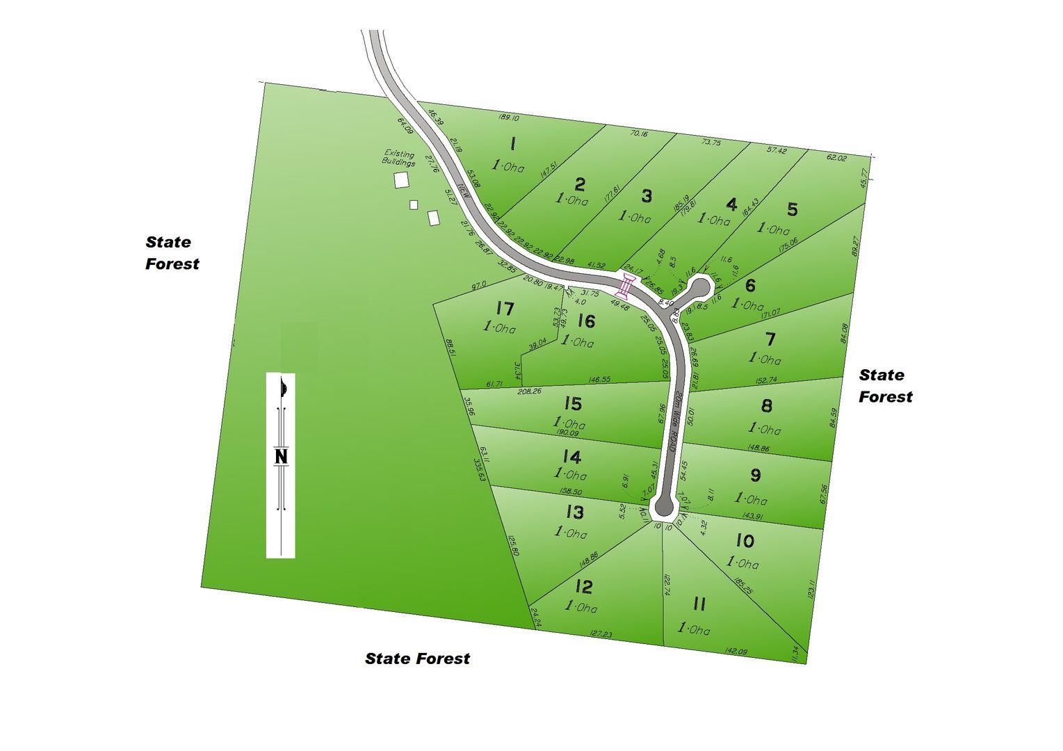 Lots 1 -17 Lorna Crescent, WOODCOT ESTATE, Beecher QLD 4680, Image 1
