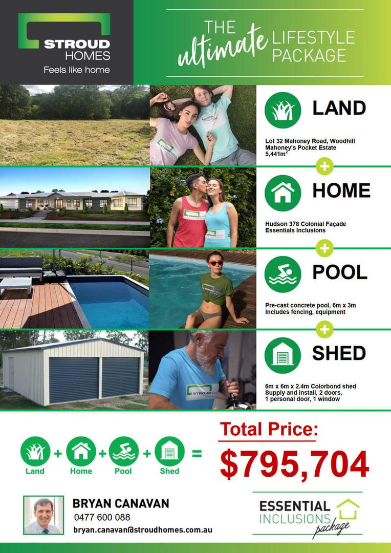 "Lot 32 Townsvale Drive ""MAHONEYS POCKET"", Woodhill QLD 4285, Image 1"