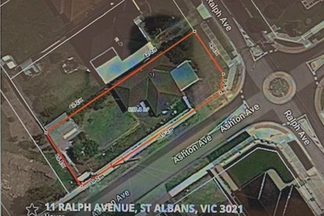 Picture of 11 Ralph Avenue, ST ALBANS VIC 3021