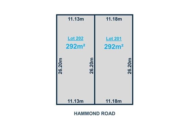 Picture of Lot 201-202 Hammond Road, FINDON SA 5023