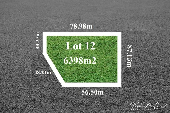 Picture of lot 12 Peppertree Hill Road, LONGFORD VIC 3851