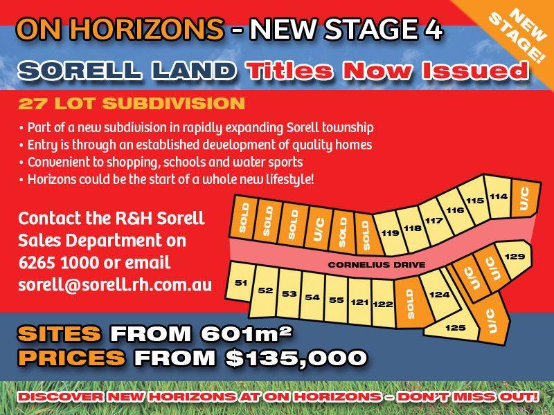 Lot 124 'On Horizons', Cornelius Drive, Sorell TAS 7172, Image 1
