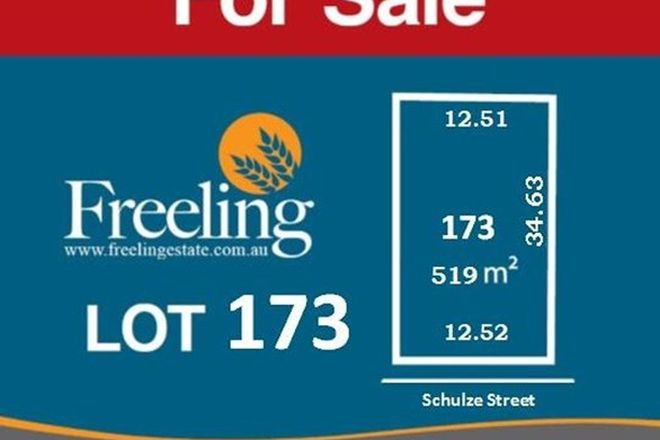 Picture of Lot 173 Schulze Street, FREELING SA 5372