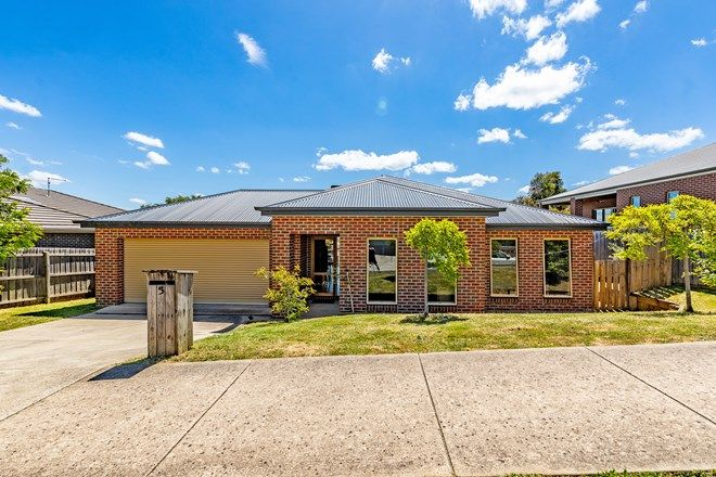 Picture of 5 Delaland  Avenue, BUNINYONG VIC 3357