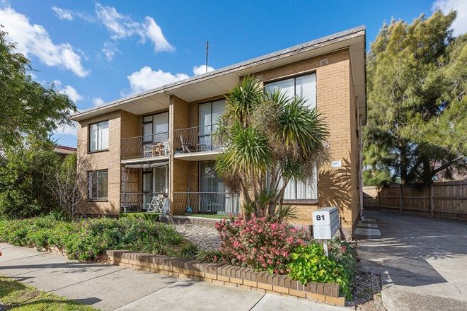 Picture of 8/81 Bellairs Avenue, YARRAVILLE VIC 3013