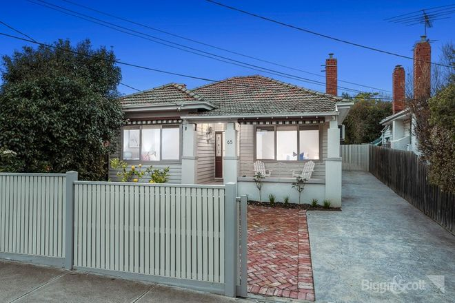 Picture of 65 Eirene Street, YARRAVILLE VIC 3013