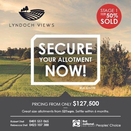 Lot 13 Jollytown Road - Lyndoch Views Estate, Lyndoch SA 5351, Image 0