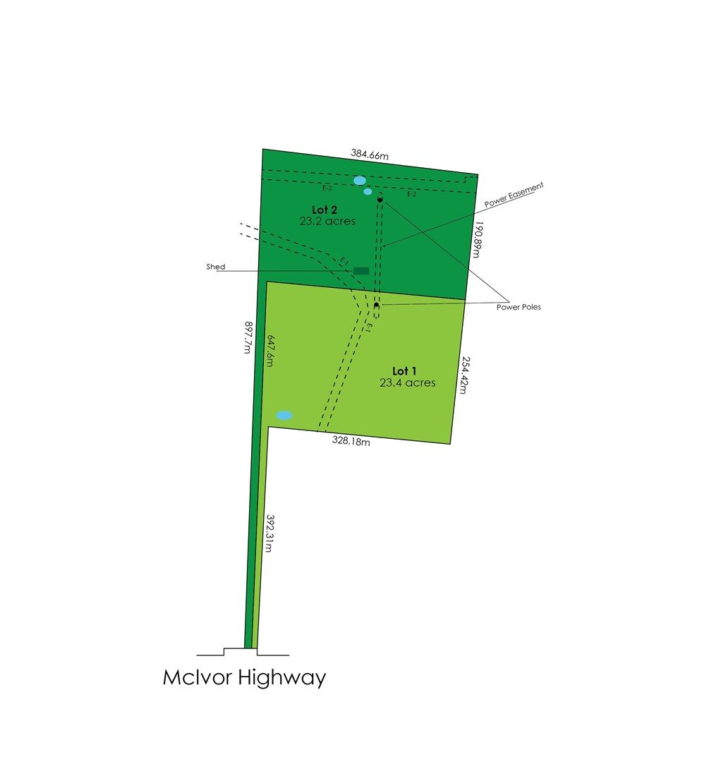 Lot 1/1275 McIvor Highway, Longlea VIC 3551, Image 0
