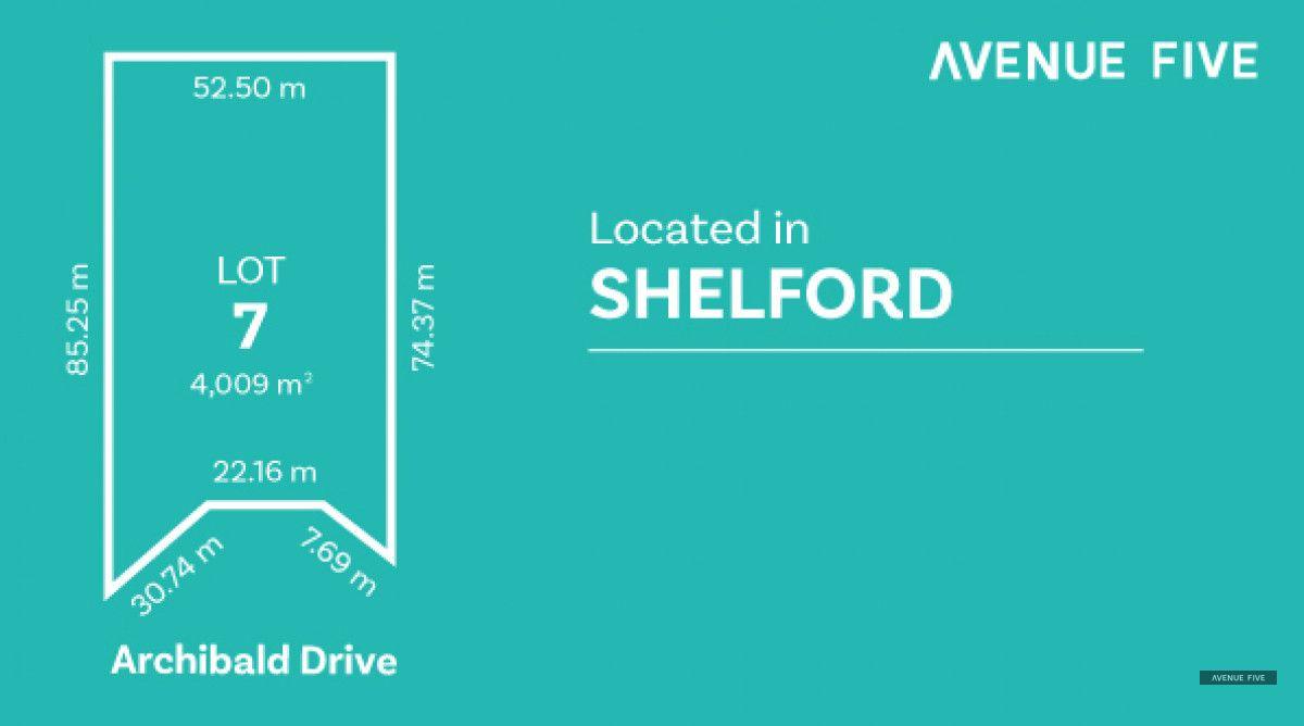 Lot 7 Archibold Drive, Shelford VIC 3329, Image 0