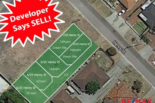 Picture of 25 Henry Street, EAST CANNINGTON WA 6107