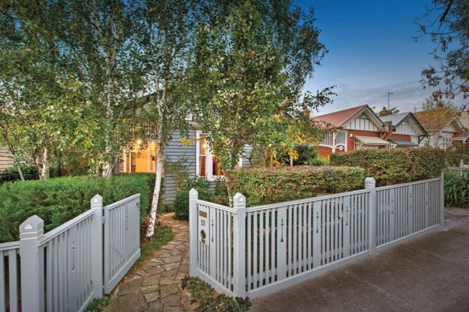 Picture of 57 Lingwell Road, HAWTHORN EAST VIC 3123