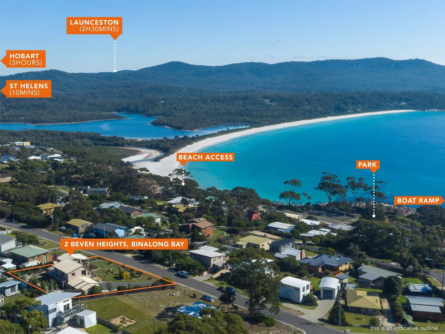 2 Beven Heights, Binalong Bay TAS 7216, Image 0