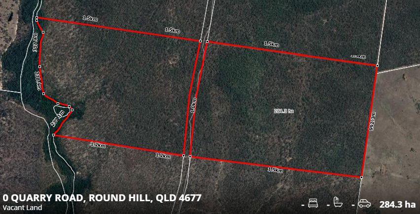 Lot/L11 Quarry Road, Round Hill QLD 4677, Image 0