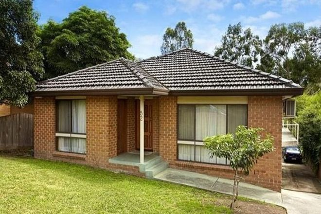 Picture of 52 Glengarry Avenue, BURWOOD VIC 3125
