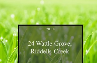Picture of 24 Wattle Grove, Riddells Creek VIC 3431