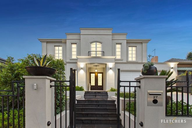 Picture of 27 Greythorn Road, BALWYN NORTH VIC 3104