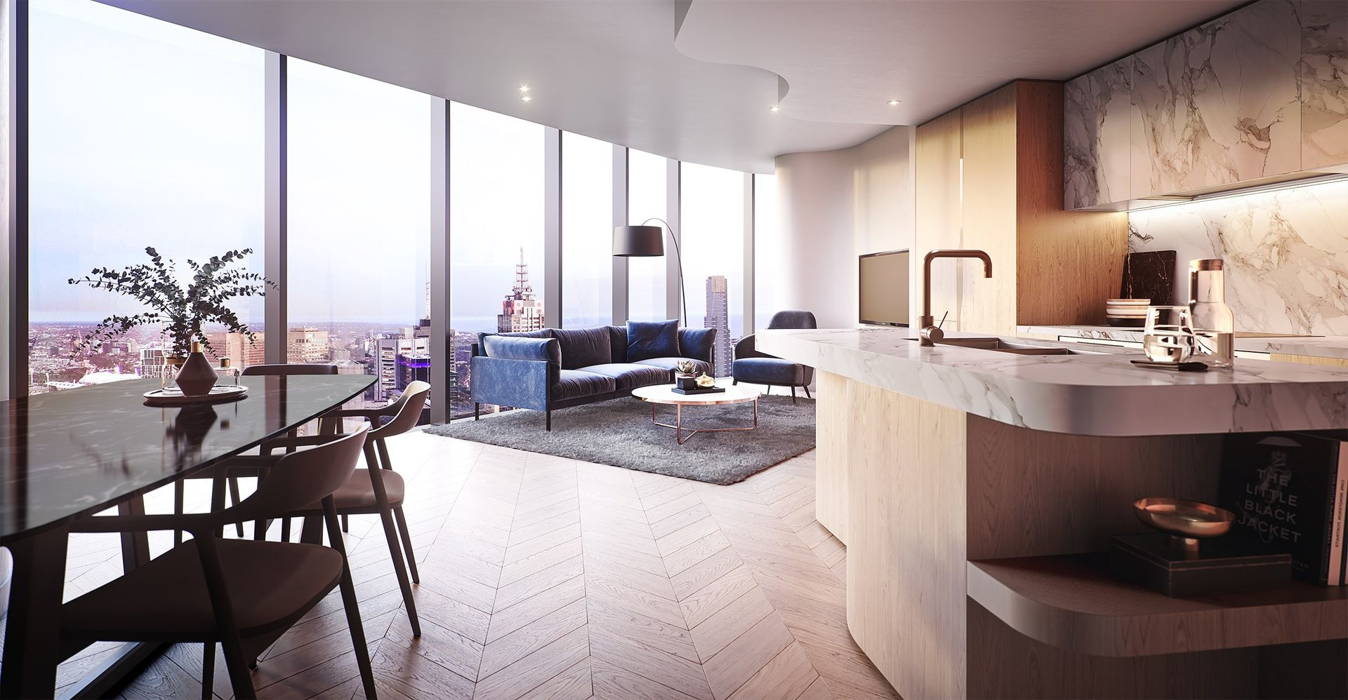 308 Exhibition Street, Melbourne VIC 3000 - Apartment For ...