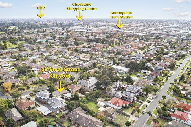 Picture of 38 View Street, CLAYTON VIC 3168