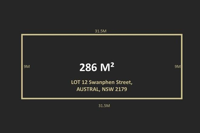 Picture of LOT 12 Swanphen Street, AUSTRAL NSW 2179