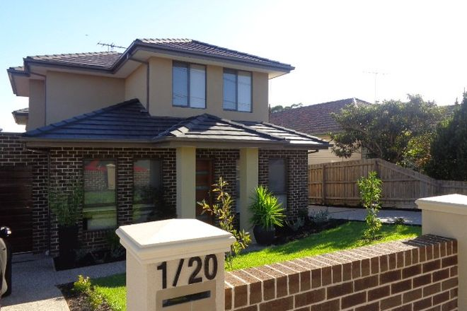 Picture of 1/20 Jacka Street, PRESTON VIC 3072