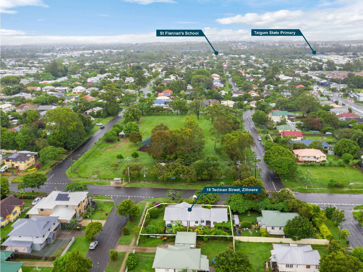 Lot Proposed Lots 1 & 2/10 Tedman Street, Zillmere QLD 4034, Image 1