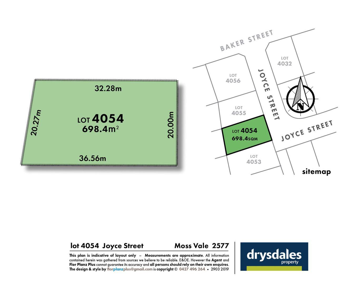 Lot 4054, 25 Joyce Street, Moss Vale NSW 2577, Image 1