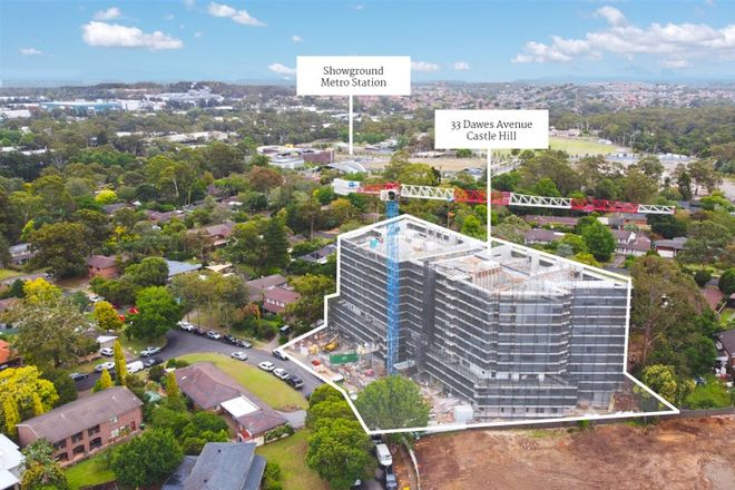 Picture of 405/33 Dawes Avenue, CASTLE HILL NSW 2154