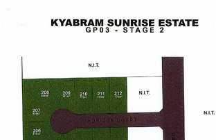 Picture of Lot 201-232 Sunrise Estate - Stage 2, Kyabram VIC 3620