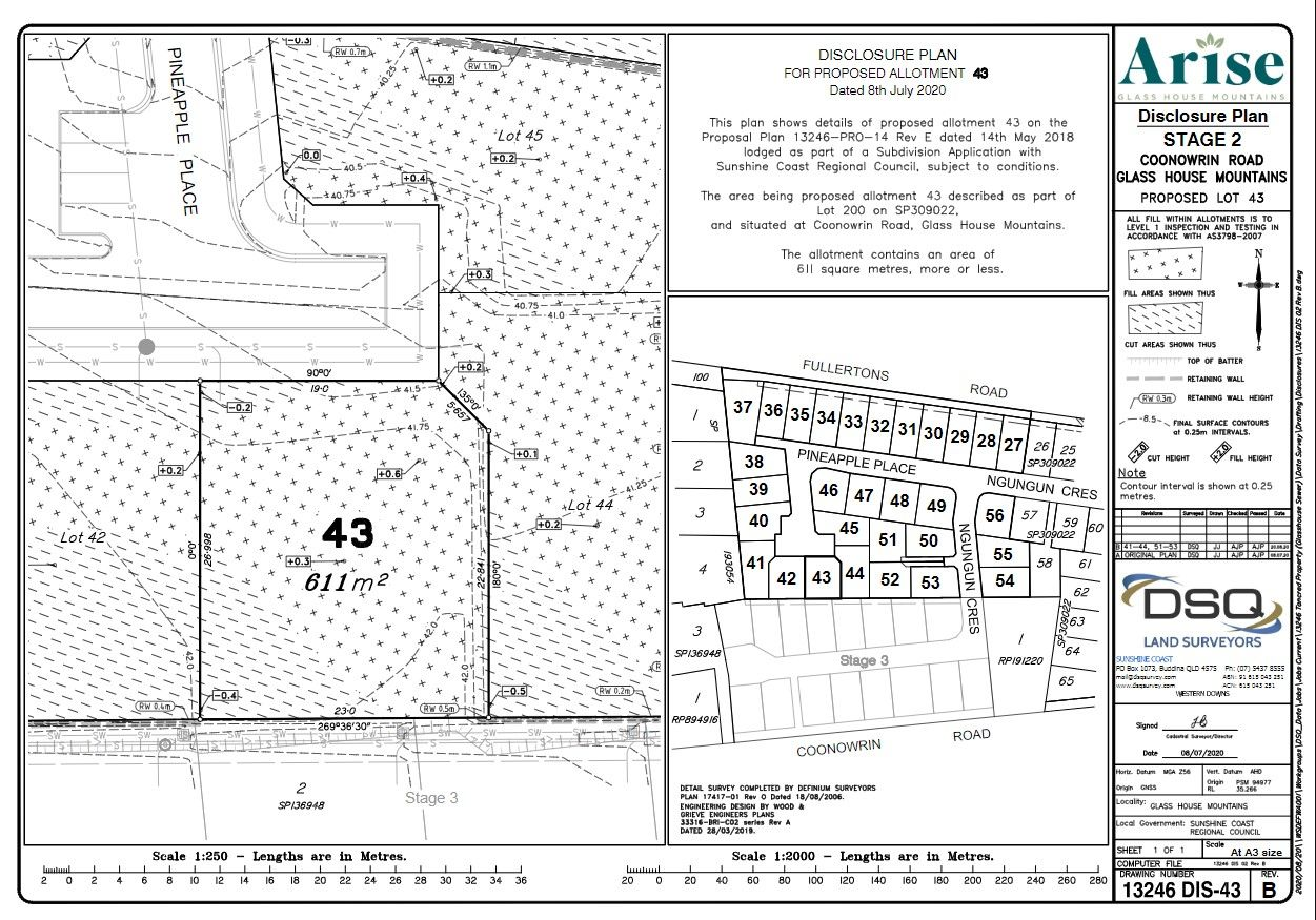 Lot 43 Pineapple Place, Glass House Mountains QLD 4518, Image 0