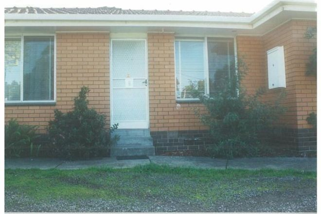 Picture of 1/110 Station Street, THOMASTOWN VIC 3074