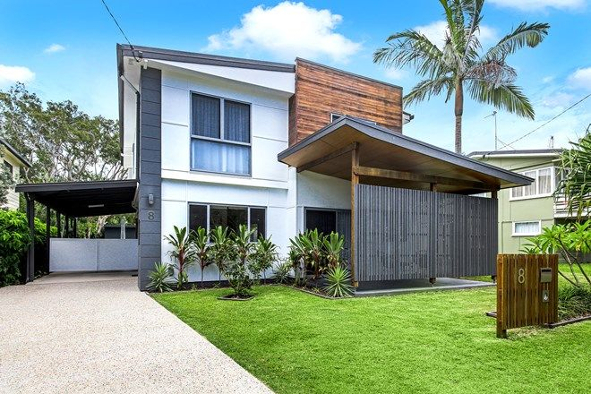 Picture of 8 Ngungun Street, DICKY BEACH QLD 4551