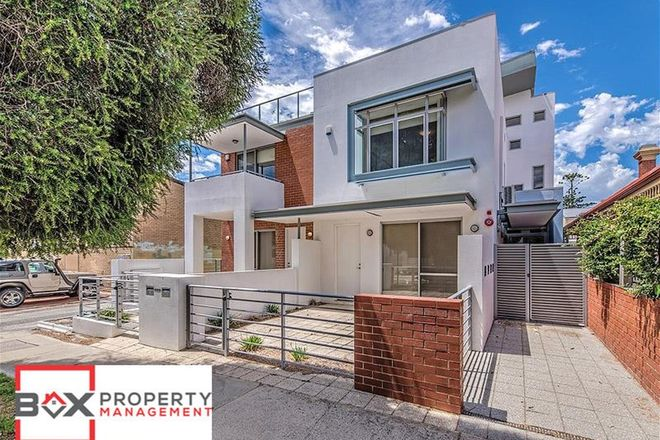 Picture of 3/24 Lindsay Street, PERTH WA 6000