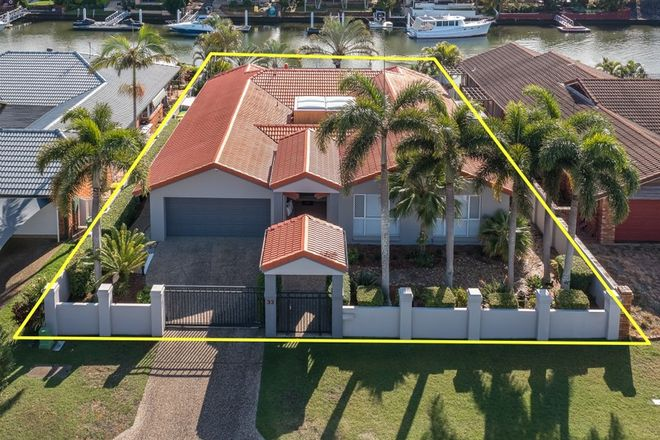 Picture of 33 Pebble Beach Drive, RUNAWAY BAY QLD 4216