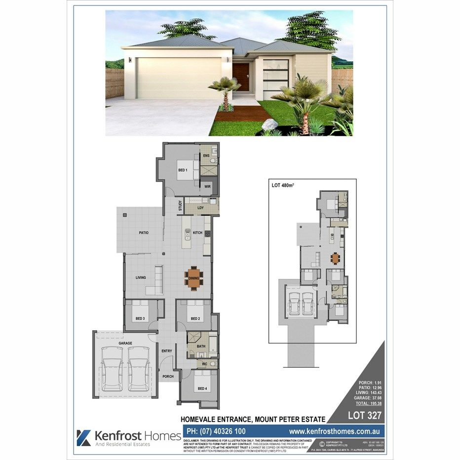 Lot 327 Homevale Entrance, Mount Peter QLD 4869, Image 1