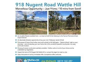 Picture of Lots 15-16/918 Nugent Road, Wattle Hill TAS 7172