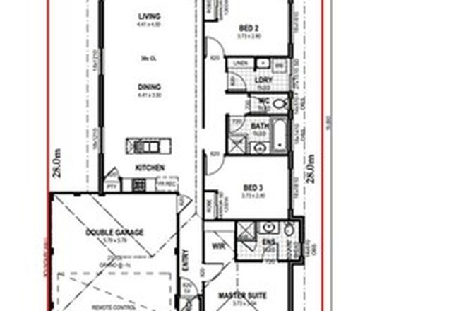 Picture of Lot 849 Gerbera Road, SOUTHERN RIVER WA 6110