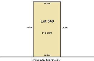 Lot 540 (36) Kinsale Parkway, Canning Vale WA 6155