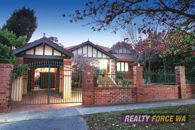 Picture of 53 McKenzie Street, WEMBLEY WA 6014