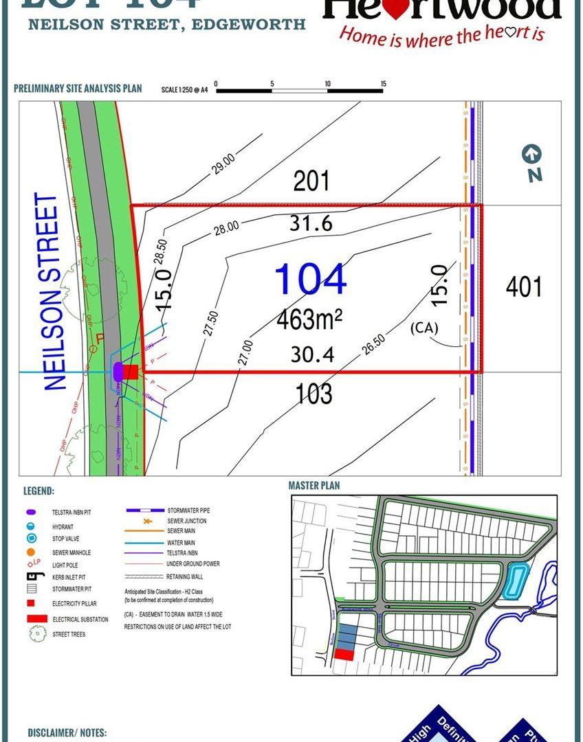 Lot 104 Neilson Street, Edgeworth NSW 2285, Image 2