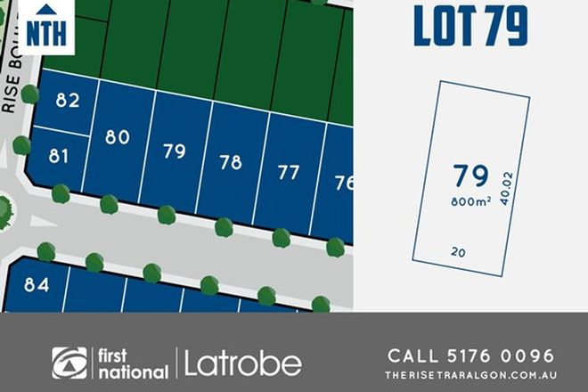 Picture of Lot 79 Rise Boulevard, TRARALGON VIC 3844