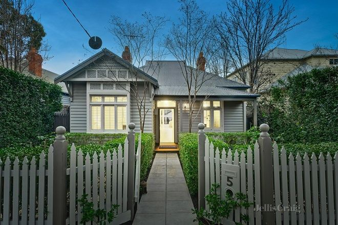 Picture of 5 Currajong Road, HAWTHORN EAST VIC 3123