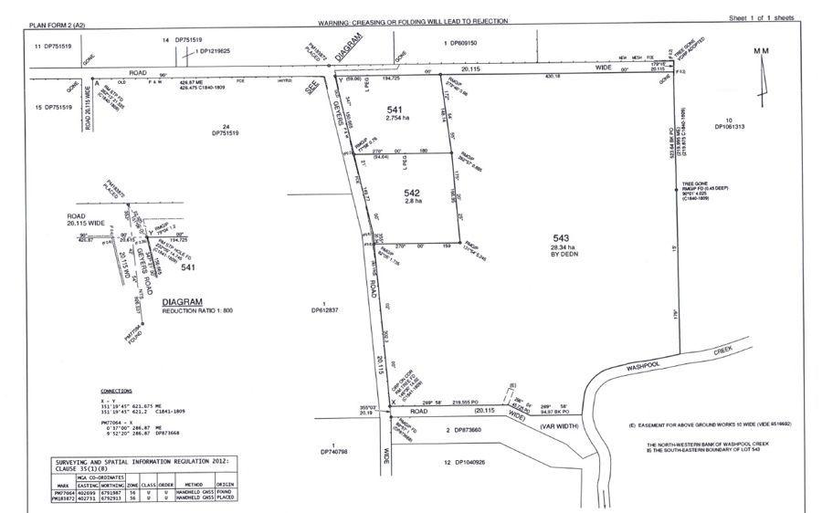 Lots 541 & 542 Geyers Road, Tenterfield NSW 2372, Image 2