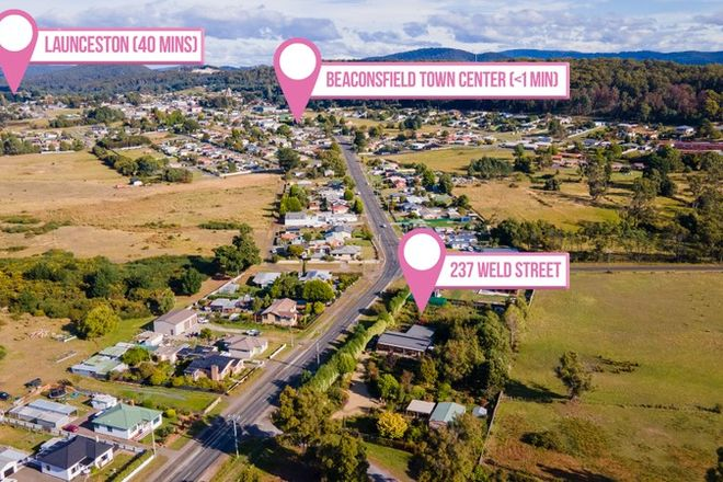 Picture of 237 Weld Street, BEACONSFIELD TAS 7270
