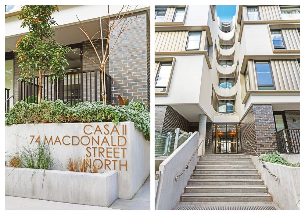 2 bedrooms Apartment / Unit / Flat in B615/74 Macdonald Street ERSKINEVILLE NSW, 2043