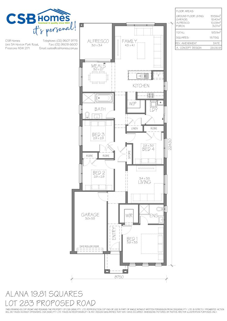 Lot 283 Clearfield Avenue, Austral NSW 2179, Image 1