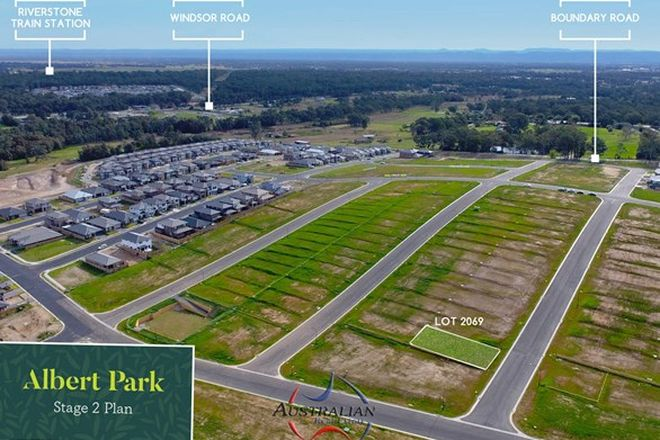 Picture of Lot 2069 Albert Park, BOX HILL NSW 2765