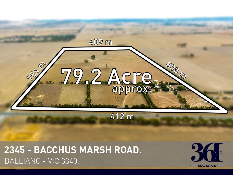 2345 Bacchus Marsh Road, Balliang East VIC 3340, Image 0
