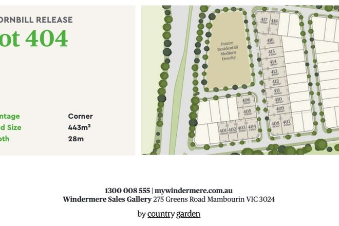 Picture of Yang Road, WYNDHAM VALE VIC 3024